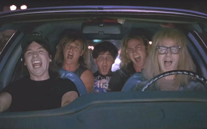 Seven Goofball Road Movie Scenes Carpool